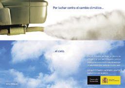 Poster de la campagne sur les économies d'énergie et le changement climatique