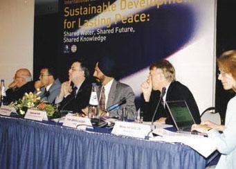 La conférence MED EUWI à Athènes en 2003