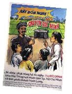 Poster annonçant le feuilleton radiophonique