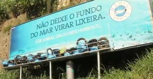 Bahia Marina : Ne transformez pas la mer en poubelle