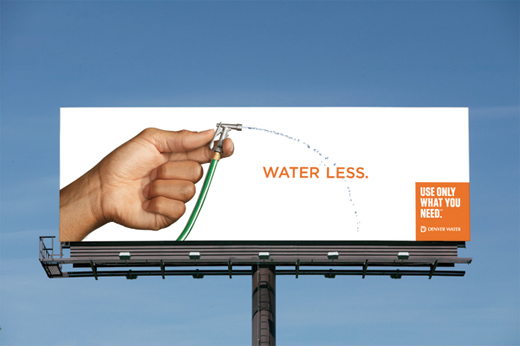 Denver Water - Use only what you need 2012 campaign