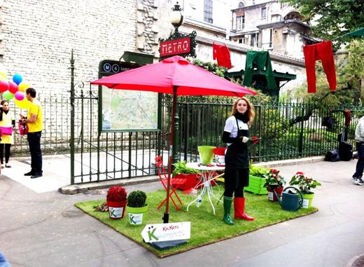 Campagne Kickers : venez greenioter votre ville - 2