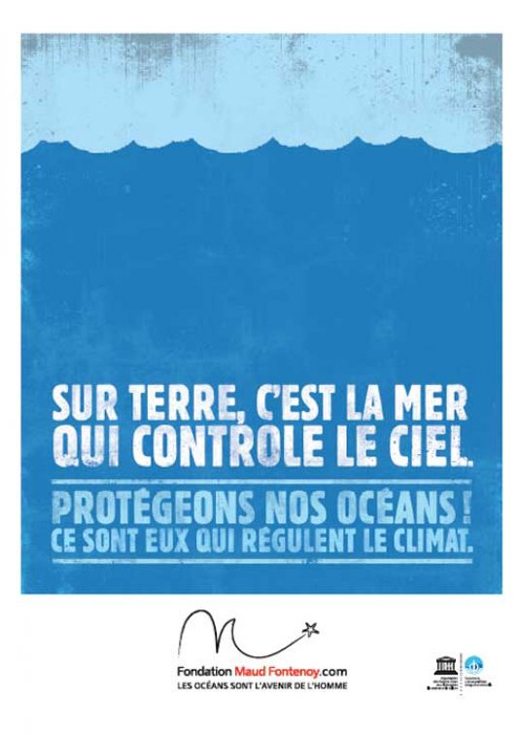 Campagne d'affichage Fondation Maud Fontenoy