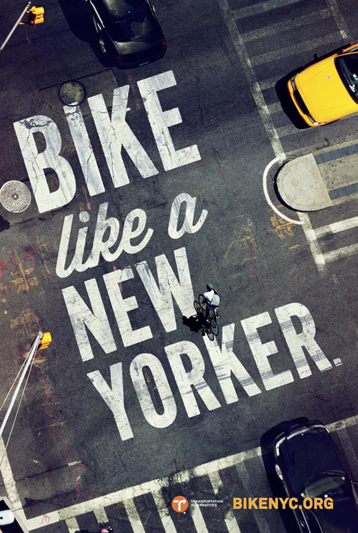 Bike Like a New Yorker Campaign