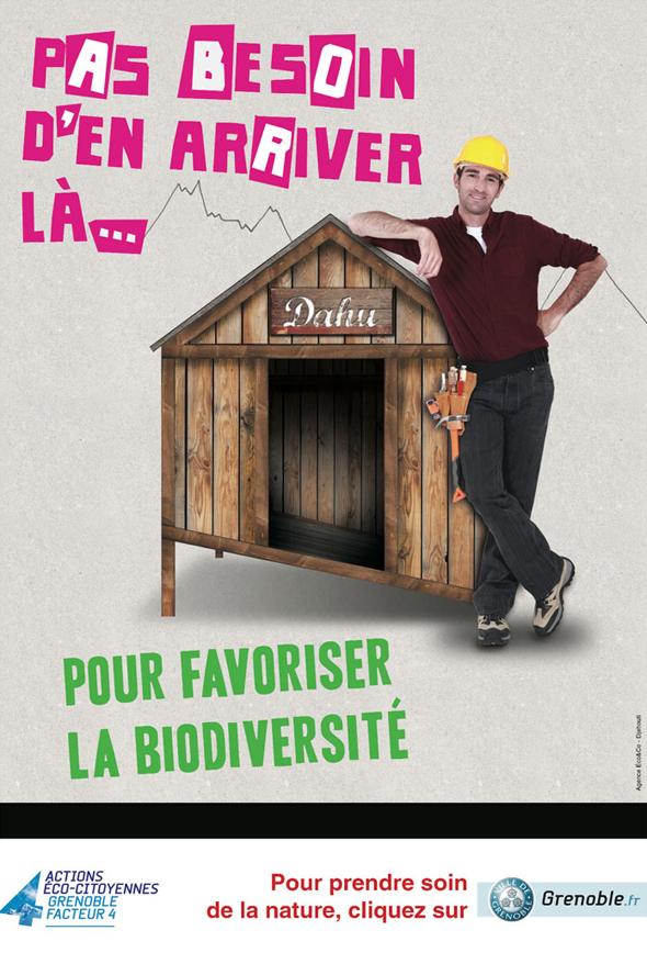 Grenoble - Favoriser la nature pour sauver la biodiversité