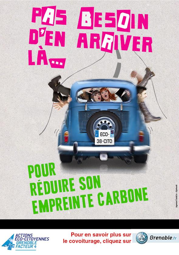Grenoble - Se déplacer autrement pour réduire son empreinte carbone