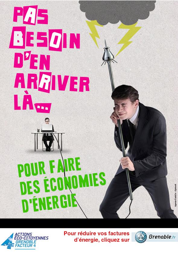 Grenoble - Faire des économies d'énergie pour éviter le gaspillage