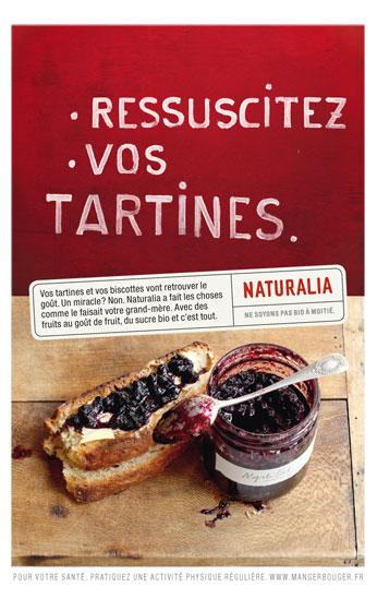 Naturalia « Ne soyons pas bio à moitié » - Confiture - Septembre 2011