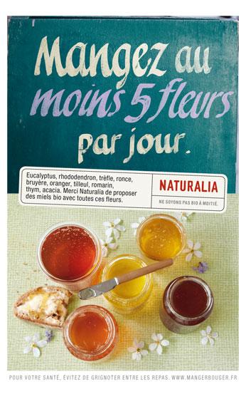Naturalia « Ne soyons pas bio à moitié » - Miel - Octobre 2011