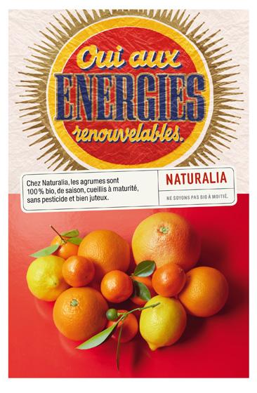 Naturalia « Ne soyons pas bio à moitié » - Oranges - Janvier 2012
