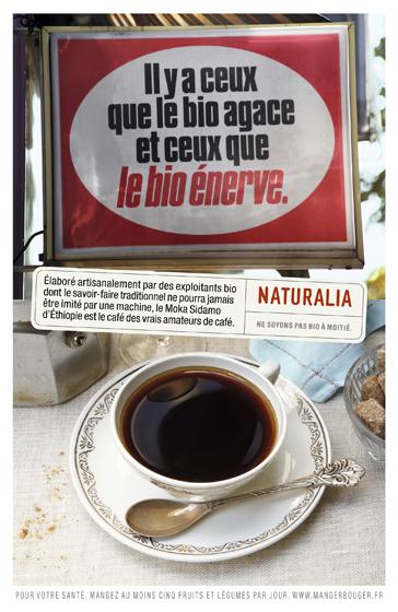 Naturalia « Ne soyons pas bio à moitié » - Café - Novembre 2012