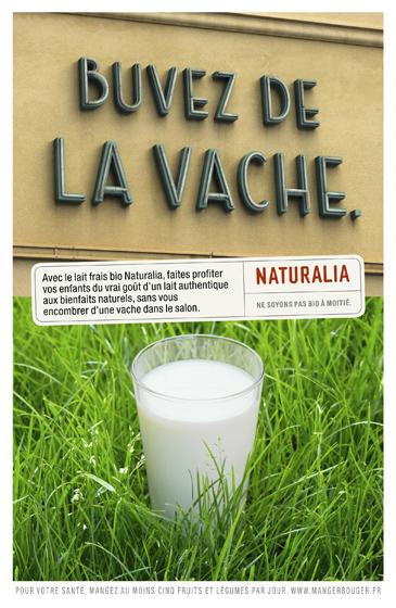 Naturalia « Ne soyons pas bio à moitié » - Lait - Novembre 2012