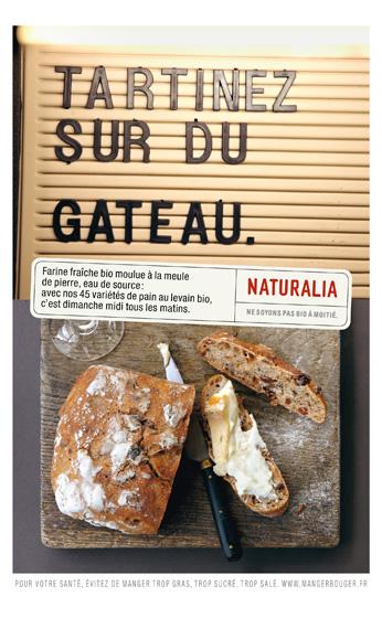 Naturalia « Ne soyons pas bio à moitié » - Pain - Mai 2011