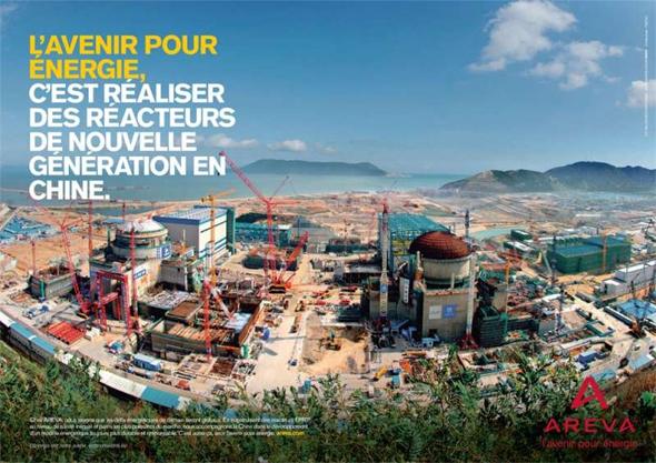 Areva - L'avenir pour énergie - Développement international