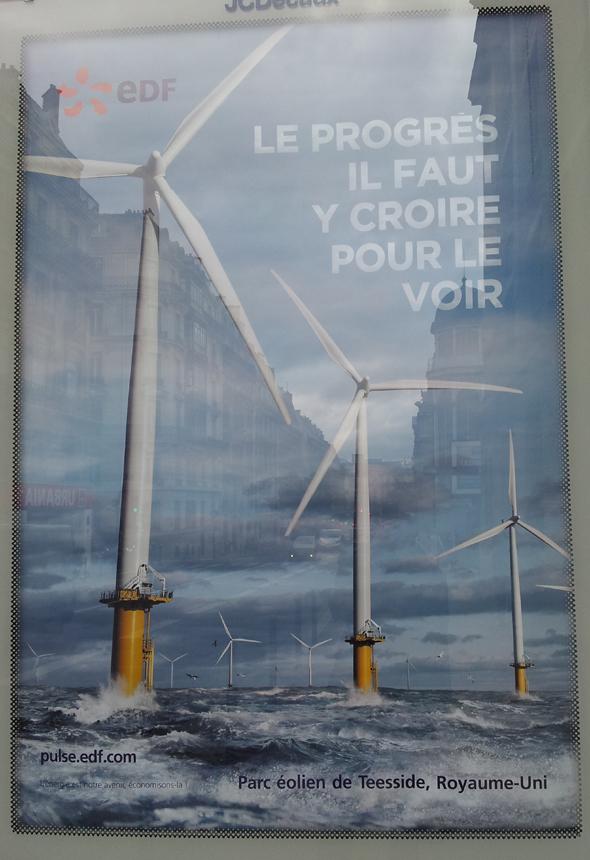 EDF : le progrès, il faut y croire pour le voir