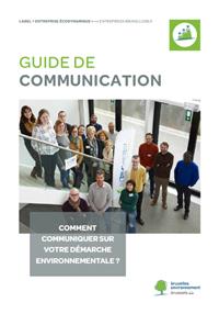 Couverture Guide communication Bruxelles Environnement