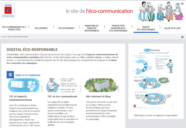 Ademe - Site éco-communication