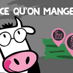 Exemple communication digitale RSE - Les 2 vaches