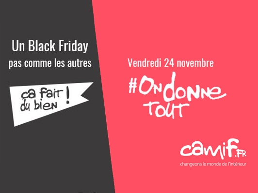 Camif Black Friday