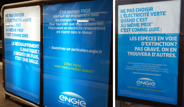 Campagne ENGIE 2016