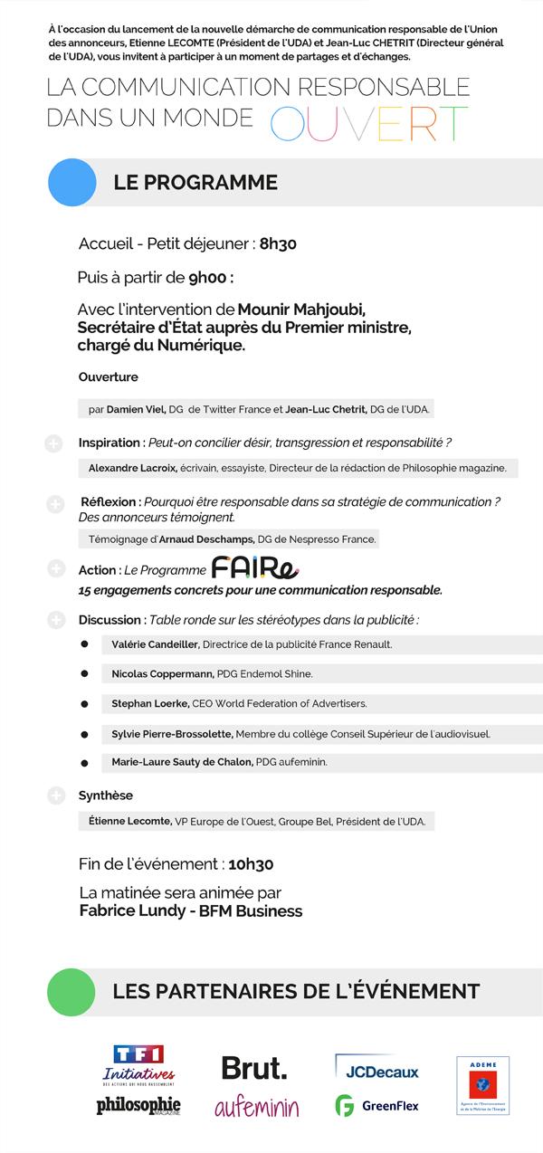 Programme événement FAIRe